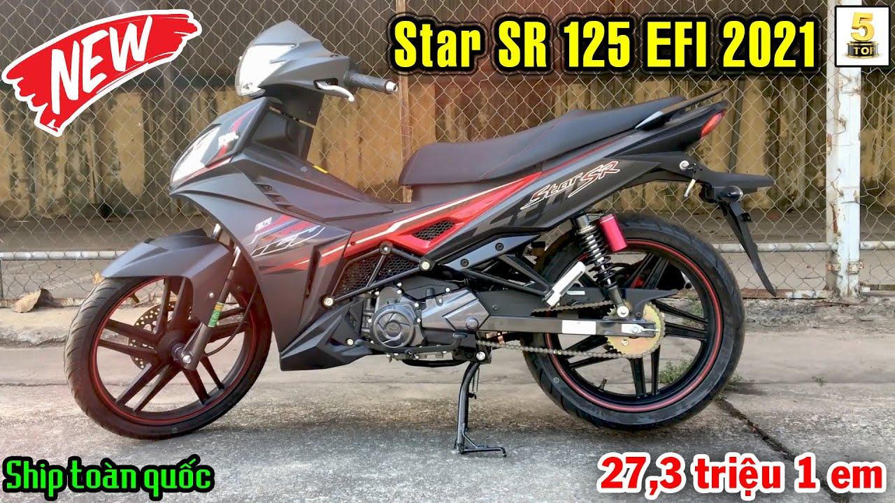 SYM Star SR 125 EFI 2021 có gì mới…? ▶️ Chỉ 27.3 triệu 1 em Star SR 125 EFI 2021 🔴 TOP 5 ĐAM MÊ