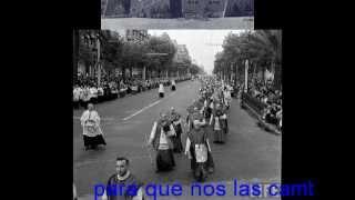 HIMNE OFICIAL DEL XXXV CONGRÉS EUCARISTIC INTERNACIONAL DE BARCELONA-1952