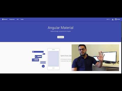 Angular 8 - Angular Material Tutorial thumbnail