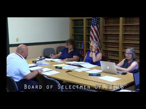 Board of Selectmen 07.23.18