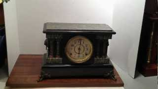 Seth Thomas Mantel Clock - The Prince - 1904, Adamantine, Great Strike Sound