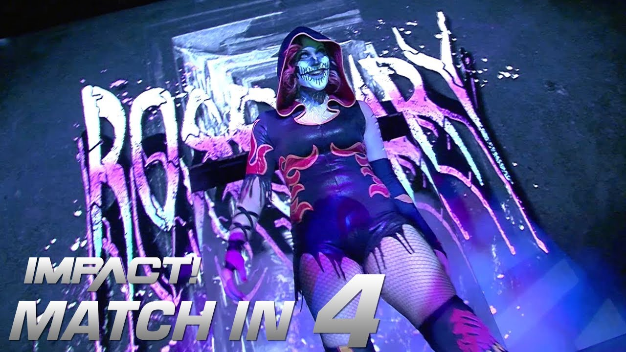 Rosemary Battles Hania: Match in 4 | IMPACT! Highlights Feb. 15, 2018