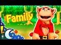 Inglés para Niños con El Mono Silabo - La Familia - Lunacreciente