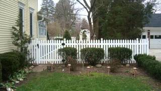 Vinyl Fencing For Gardens   Fences & Gates Design For Garden