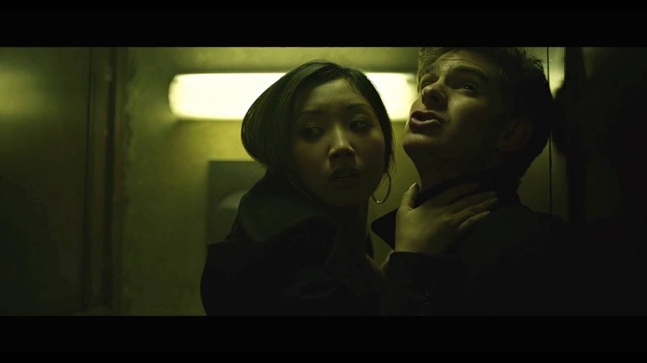 The Social Network Bathroom Kissing Scene with Brenda Song (HD)