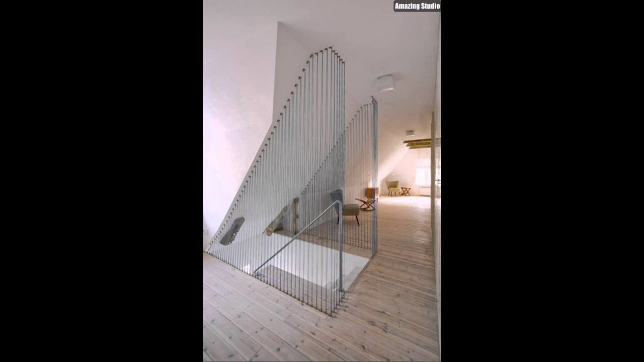Merveilleux DIY Rope Wall Stairs