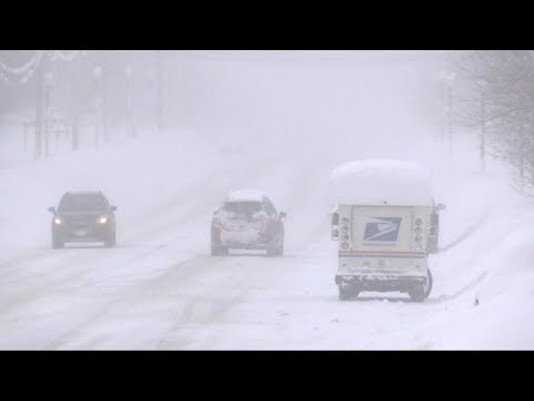 Dangerous snow storms moving across the US