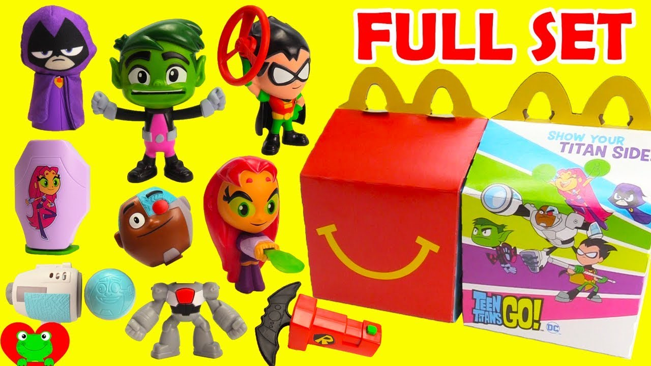 Collecting 2019 Teen Titans Go Mcdonald S Happy Meal Toys