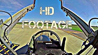 Full HD Gopro Jet Fighter Cockpit View / Footage From U.S Air Force