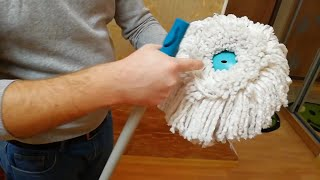 Немецкая швабра Leifheit Clean Twist Mop Честный видео-обзор!