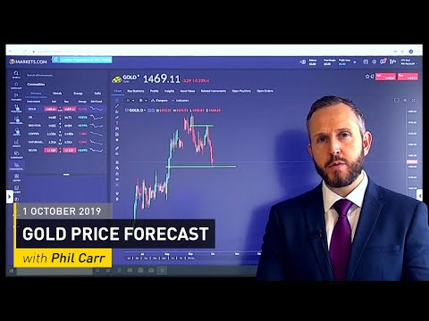 COMMODITY REPORT: Gold Price Forecast: 1 October 2019
