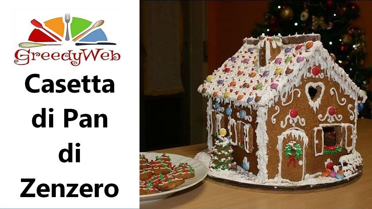 Casetta Di Natale Con Biscotti : Come fare una casetta di pan di zenzero ricetta di natale