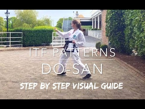 DO-SAN | ITF Patterns | Step by Step Visual Guide 🥋