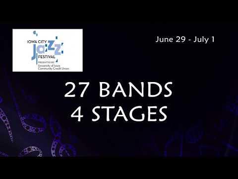 Iowa City Jazz Festival 2018