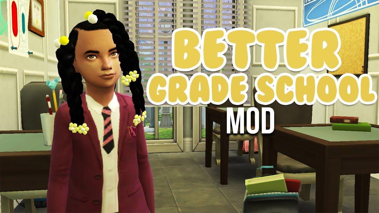 BETTER GRADE SCHOOL MOD | The Sims 4 Mods