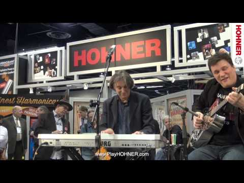 Howard Levy Plays Harmonica at NAMM 2014