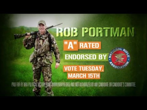 NRA-PVF endorses Rob Portman in the U.S. Senate GOP Primary in Ohio