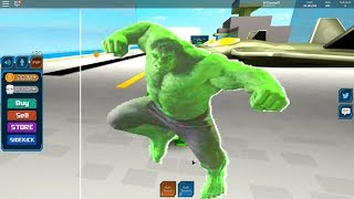 HULK UNLEASHED!! | ROBLOX Superhéroe