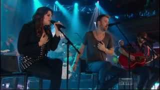 Lady Antebellum - Need You Now[live]