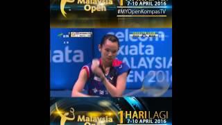 2016 Malaysia Open Final   Ratchanok Intanon vs Tai Tzu Ying ~ HD 1080p