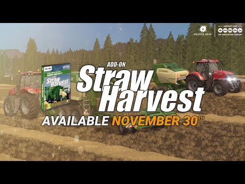 Buy Farming Simulator 17: Straw Harvest (Add-On) - Incl  shipping