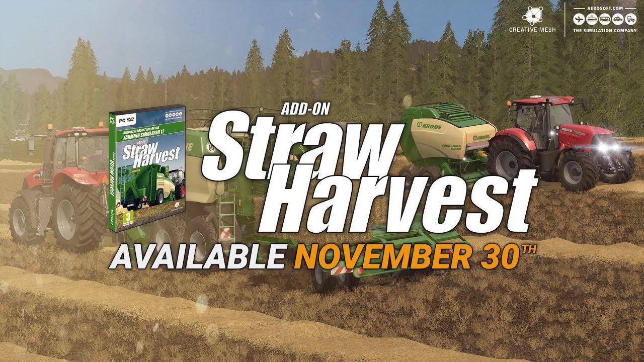 Farming Simulator 17 Add-on Straw Harvest | Aerosoft Shop