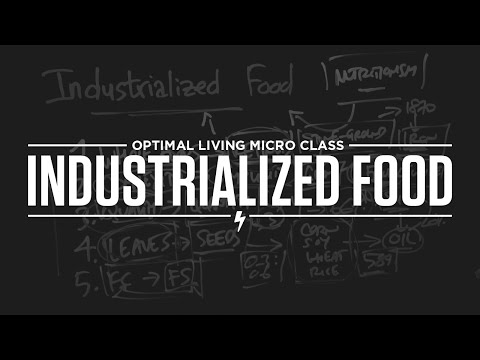 Micro Class: Industrialized Food