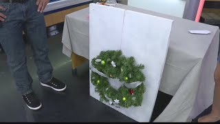 DIY: Hang a wreath without unsightly door damage