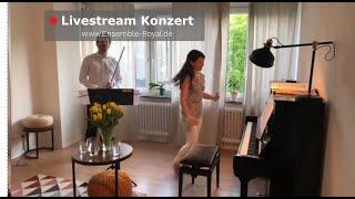IV. Livestream Konzert - aus dem Wohnzimmer vom ENSEMBLE ROYAL