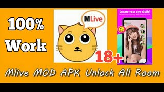 MLIVE MOD APK DEWASA TERBARU || UNLOCK ALL ROOM NEW UPDATE MLIVE APK