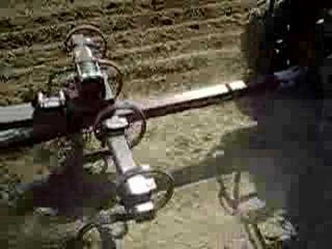 Row Model 2 ATV Row Planter and Field Cultivator YouTube
