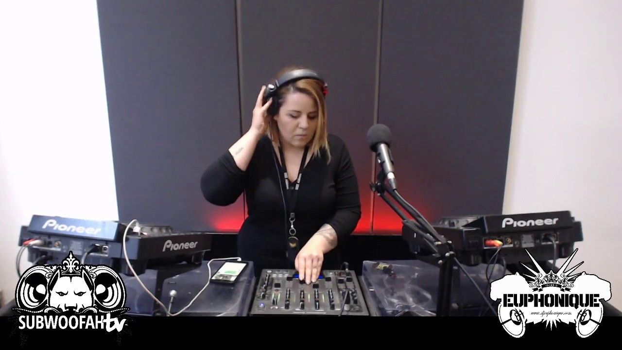 Download Euphonique live on SubwoofahTV (We Love Jungle warm up)