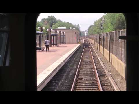 Metro 7000-Series Train Red Line Arriving Takoma Station