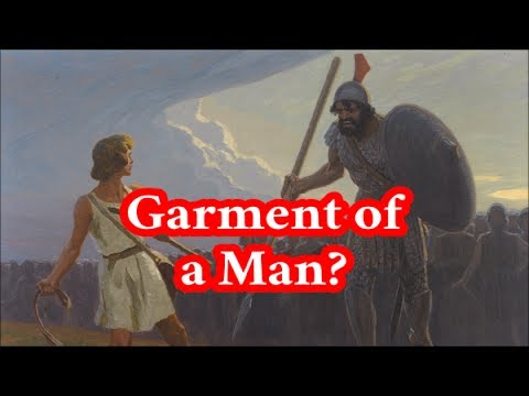 """Studying the """"Garment of a Man"""" in Dt 22:5"""