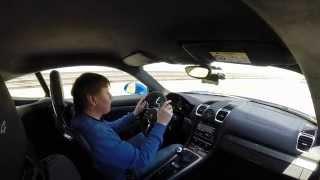 """""""Клаксон"""" тест-драйв Porsche Cayman GT4 в Алгарве, Португалия"""