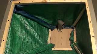 002 Tablesaw Dust Collection Hackjob (with Tarp !) 1/3