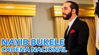 #ENVIVO Presidente Nayib Bukele Brinda  Cadena Nacional con Información Importante!