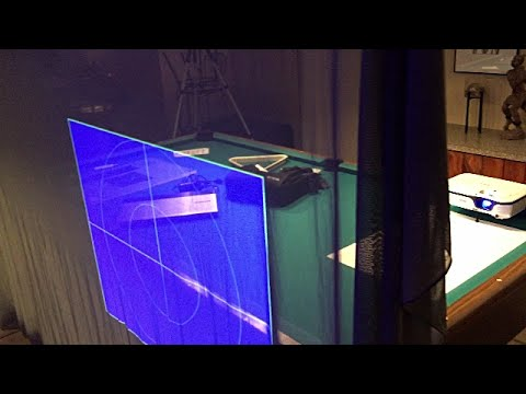 Halloween hologram projection tutorial DIY how to