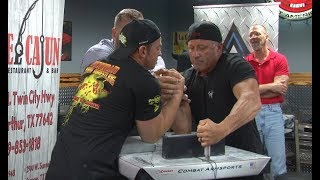 Arm Wrestling Southeast Texas Showdown: Left and Right Hand Overalls