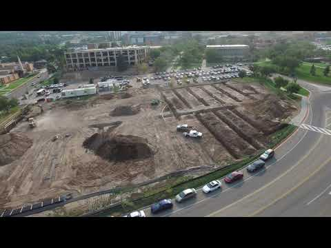 Sound Geothermal WSU Aerial Video Installation