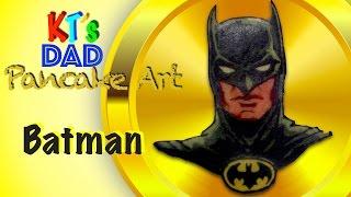pancake batman dc comics super heroes by kt s dad pancake art