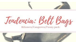 TOP TRENDING BELT BAG / RIÑONERA / CANGURERA 👜✅  NIÑA MOZZA