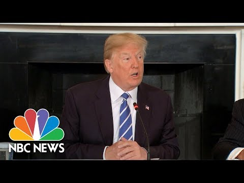 President Donald Trump Unveils 'Unprecedented' Infrastructure Plan As Part Of 2019 Budget | NBC News