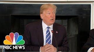 President Donald Trump Unveils 'Unprecedented' Infrastructure Plan As Part Of 2019 Budget   NBC News