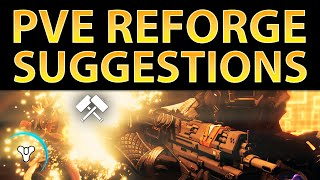 Planet Destiny: PvE Reforge Guide (Weapon Perk Suggestions)
