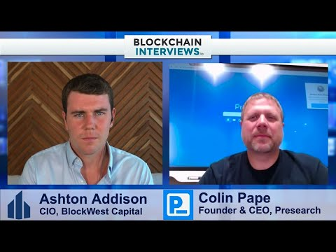 Colin Pape, The Founder & CEO of Presearch – Decentralized Search Engine   Blockchain Interviews