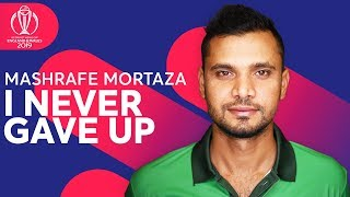 "Mashrafe Mortaza: ""I NEVER Gave Up!"" | From Injury to Inspiration | ICC Cricket World Cup 2019"