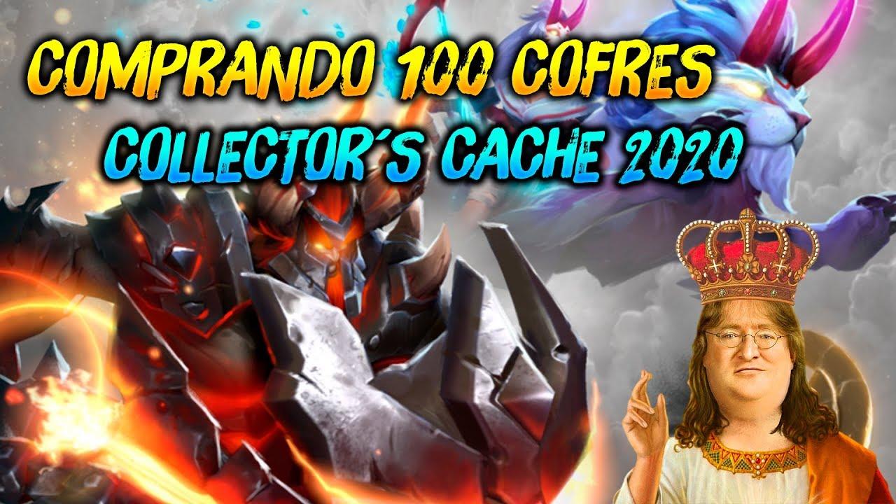 COMPRANDO 100 COFRES ► Collector´s Cache Call to Arms 2020 😍 | Dota 2
