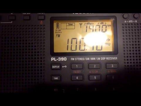 Manistee, MI Bandscan 3/29/16 - Tecsun PL-390