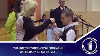 Учащиеся гомельской гимназии завоевали 40 дипломов